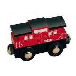 MAXIM Kolejka drewniana 50820 Wagon Kambuz