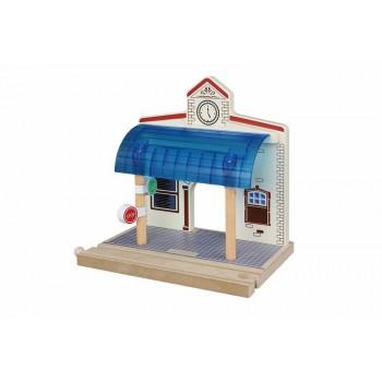 MAXIM 50958 Kolejka drewniana Dworzec Chelsey