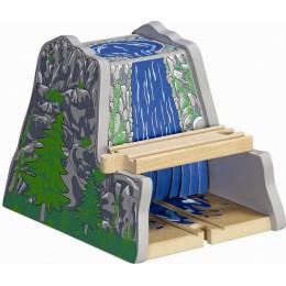 MAXIM 50965 Kolejka drewniana Tunel z Wodospadem