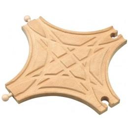 MAXIM 50451 Skrzyżowanie Typu X Kolejka Drewniana