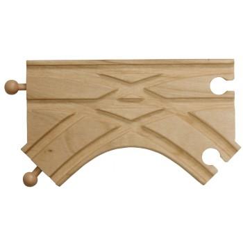 MAXIM 50971 Skrzyżowanie typu K do kolejek drewnianych