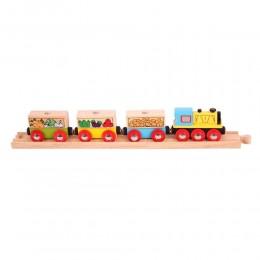 BJT180 Pociąg z owocami i warzywami