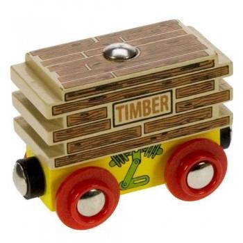 BJT404 Wagon z drzewem do kolejek drewnianych