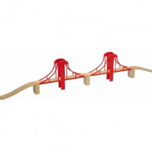 MAXIM 50913 Most wiszący 7 elementów do kolejek drewnianych