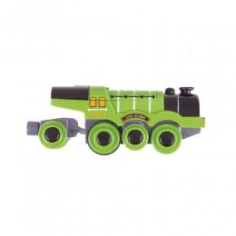 BJT306 Zielona lokomotywa na baterie - Latający Szkot