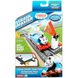 Fisher Price CDB63 Kolejka Tomek Trackmaster  - Skrzyżowanie do rozbudowy