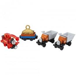 Kolejka Tomek Take-N-Play - Załoga załadunkowa - 4 lokomotywki