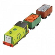 Fisher Price - Trackmaster - lokomotywa Zgniotek CFF93