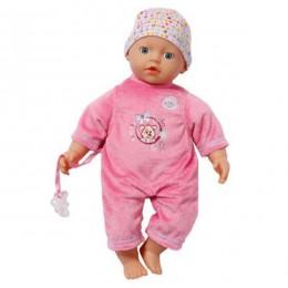ZAPF CREATION Lalka BABY BORN Super miękka ciemnoróżowa 9968