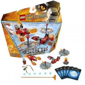 Klocki LEGO Chima 70149 Ogniste Ostrza
