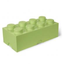 LEGO Pojemnik 8 na zabawki - Klocek 50cm - Pastelowy zielony