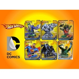 Hot Wheels DC Comics