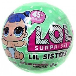 LOL Surprise! Mała laleczka niespodzianka w kuli - Siostrzyczki 2 SERIA