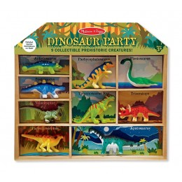 Melissa & Doug 12666 Zestaw figurek - Dinozaury