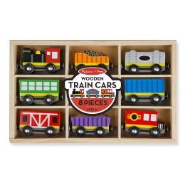 Melissa & Doug 15186 - Zestaw wagonów do kolejki