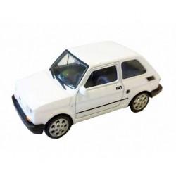 Welly - Maluch Fiat 126 Biały - Model 1:34