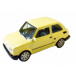 Welly - Maluch Fiat 126 Kremowy - Model 1:34