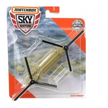 Matchbox – Sky Busters – samolot CH-47 Chinook – 68982 GKT56