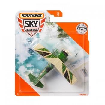 Matchbox – Sky Busters – samolot Biplane-A – 68982 GKT59