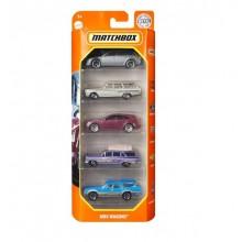 Matchbox – Pięciopak samochodzików – MBX Wagons – GVY40