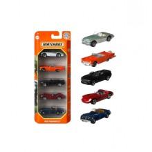 Matchbox – Pięciopak samochodzików – Blue Highways II – GVY45