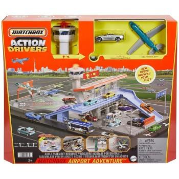 Matchbox – Lotnisko + samochód i samolot HCN34