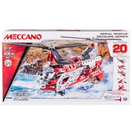 MECCANO 16211 Klocki konstrukcyjne - Zestaw 20 modeli latających