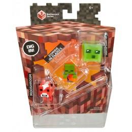 Mattel Minecraft CKH39 Mini Figurki 3pak