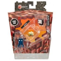 Mattel Minecraft CKH40 Mini Figurki 3pak