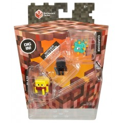 Mattel Minecraft CKH41 Mini Figurki 3pak