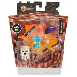 Mattel Minecraft CKH42 Mini Figurki 3pak