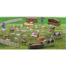NewRay 05511 FARMA FIGURKI ZWIERZĄT ZWIERZĘTA zestaw A