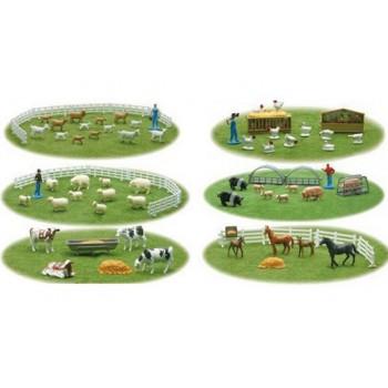NewRay 05515 FARMA FIGURKI ZWIERZĄT 6 ZESTAWÓW