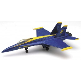 NewRay 21313 SKY PILOT SAMOLOT F-18 HORNET BLUE