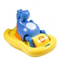 Tomy Pływający Hipopotam do kąpieli E2161