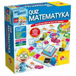 Lisciani - Quiz Matematyka - Mały geniusz - Gra edukacyjna P54381