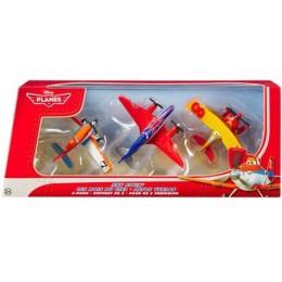 Mattel Disney PLANES Samoloty BJR87 Zestaw 3 pak
