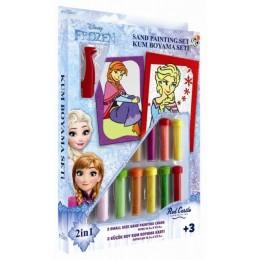 Red Castle 25424 Malowanie Piaskiem Frozen - Elsa i Anna