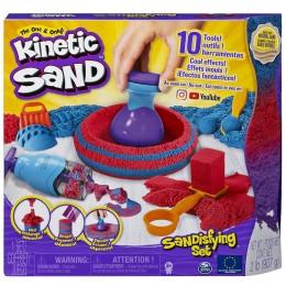 Kinetic Sand – Piasek kinetyczny – Zestaw z mega akcesoriami 6047232
