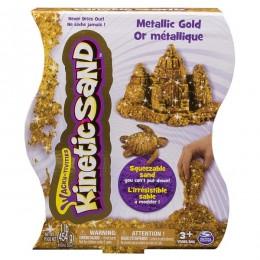Kinetic Sand T71408 Metaliczny Złoty Piasek Kinetyczny 454g