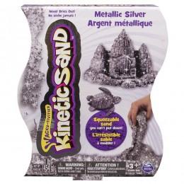 Kinetic Sand T71408 Srebrny Metaliczny Piasek Kinetyczny 454g
