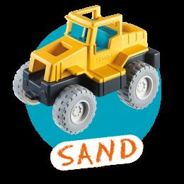 Playmobil Sand