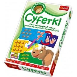 TREFL 01059 UKŁADANKI EDUKACYJNE GRA CYFERKI