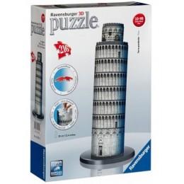 Ravensburger Puzzle 3D Krzywa Wieża w Pizie 216 el.