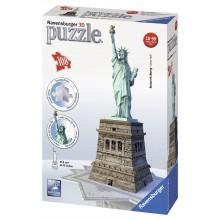 Ravensburger Puzzle 3D Statua Wolności 216 el. - 125845