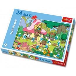 TREFL 14119 PUZZLE SMERFY MAXI 24 ELEMENTÓW