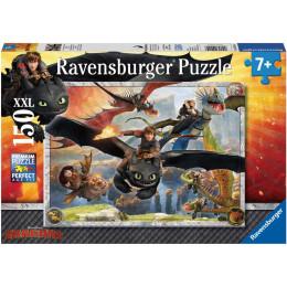 Ravensburger - Puzzle -  Dragons: Oswojone smoki - 150 XXL - 10015