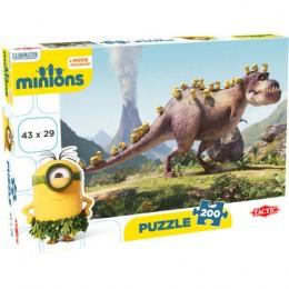 Tactic 53101 Puzzle 200 el Minionki i Dinozaur