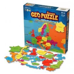GEOPuzzle Europa Mapa konturowa