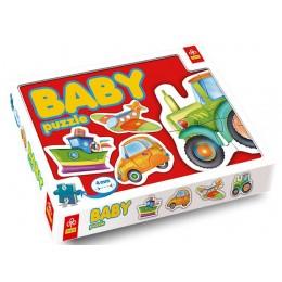 Puzzle Baby Trefl Pojazdy